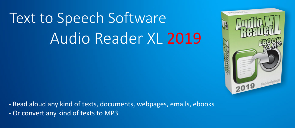 Text to Speech Software for Windows 10, 7 and 8